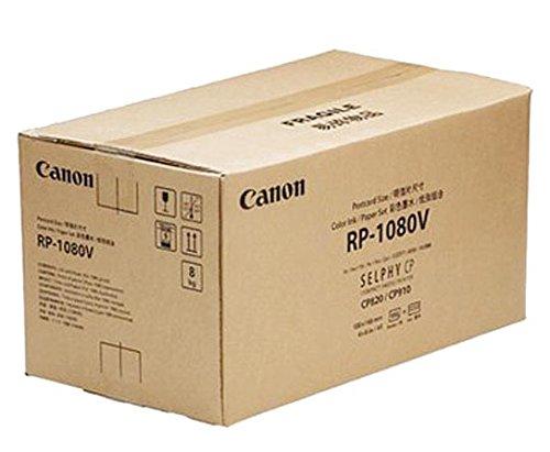 Galleria fotografica Canon RP-1080V Carta Formato Cartolina, 100 x 148 mm / 4 x 6 Pollici, Bianco