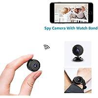 Mini Camera Espion Wifi,aobo Micro Caméra Surveillance Sans Fil 1080P Full HD Vision Nocturne smartphone bebe IP Cameras Cachée sur Batteries Détection de Mouvement Spy Cam pour Intérieure/Extérieure