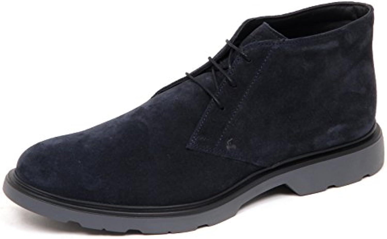 Hogan Herren Stiefel Blau Blau  Billig und erschwinglich Im Verkauf
