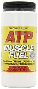 Nutrisport ATP Muscle Fuel Fruit Punch Powder 454g