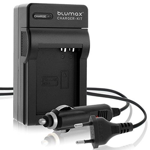 Blumax NB-10L Ladegerät | passend zu Canon PowerShot G16 G15 G1 X G3 X und SX40 SX50 SX60 HS