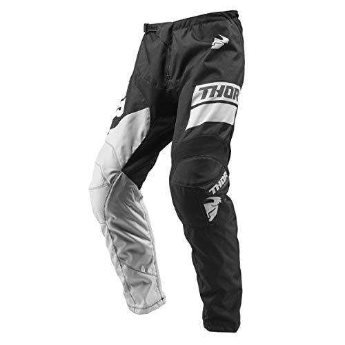 Thor-pantaloni Cross E Enduro settore S9Nero Grigio Taglia 42