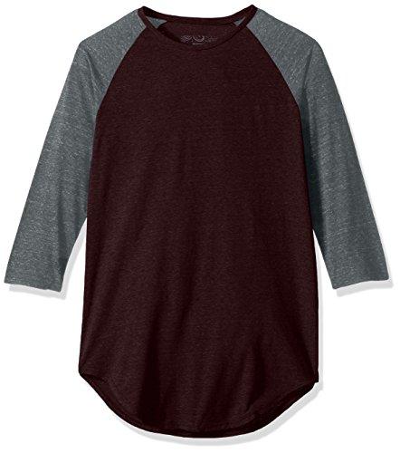 NEFF Herren Oberteile / T-Shirt Miller Raglan Rot