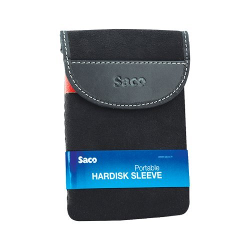 Saco External Hard Disk Sleeve for Toshiba Canvio Simple 1TB External Hard Disk