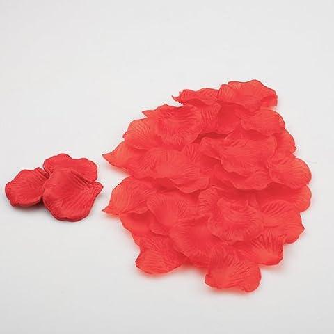 Richland® Silk Rose Petals Red 1000 Count - 1000 Di Rosa Di Seta Petali