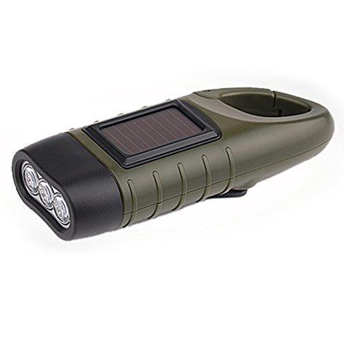 LED Linterna de Manivela