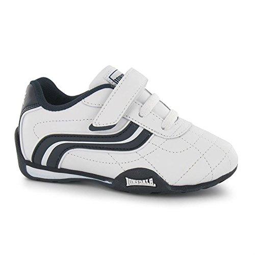 Lonsdale Camden Kinder Turnschuhe Fashion Sneaker Sportschuhe Freizeit Schuhe White/Navy