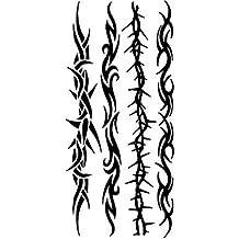 MZP Tattoo Stickers Totem Series Pattern Lower Back WaterproofWomen Men Teen Flash Tattoo Temporary Tattoos