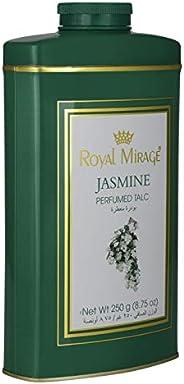 Royal Mirage Perfume Talc For Women, Jasmine, 250 gm