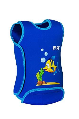 PI-PE Baby Warmer Neopren Schwimmanzug Blue S (0-6 Monate)