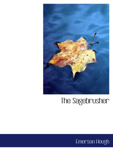 The Sagebrusher: A Story of the West