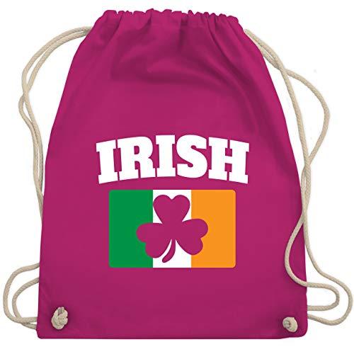 St. Patricks Day - Irish St. Patricks Day - Unisize - Fuchsia - WM110 - Turnbeutel & Gym Bag (Irish Girl Kostüm)
