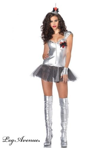 Leg Avenue Tempting Tin Man Kostüm M/L, 1 (Damen Tin Kostüm Man)