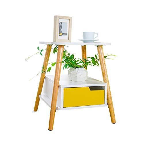 Home-table Kreative Freizeit Tisch, Doppelschicht Lagerung Es Kann Tisch Blume Stand Balkon Sofa...