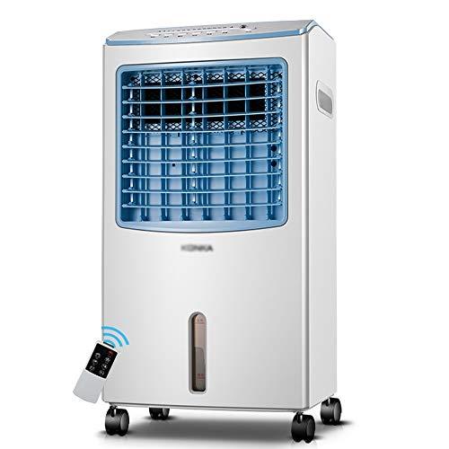 Climatiseurs Ventilateur Climatiseur portable - 7.5 heures de synchronisation, purification des ions négatifs, réservoir d'eau 8L, réfrigération télécommandée à domicile, petit refroidisseur d'air pou