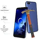 Todo Phone Store Cristal Templado 9H ESTANDAR Vidrio Antigolpes Protector Pantalla para ALCATEL 1S (2019) 4G 5.5'