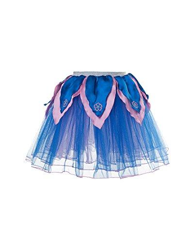 Imagen de dreamy dress ups 50451flores de pavo real tutú disfraz tamaño mediano