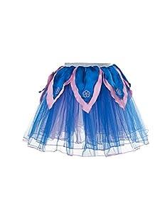 DREAMY DRESS-UPS 50451Flores de Pavo Real tutú Disfraz (Tamaño Mediano)