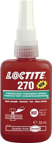 Henkel 270/10Loctite Schraubenkleber, hohe Festigkeit, 10ml