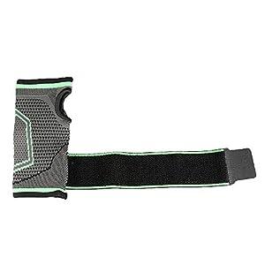 RFGHATG Wristband Wrist Support Wraps Half Finger Wrist Support Brace Compression Wrist Sleeve for Men Women Powerlifting Gym Fitness