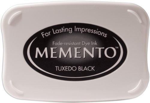 Tsukineko Memento Dye Ink Pad - Tuxedo