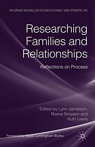 Researching Families and Relationships: Reflections on Process (Palgrave Macmillan Studies in Family and Intimate Life) by Caroline King (2011-08-26)