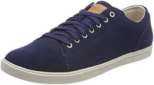 Timberland Herren Fulk Cap Toe Oxfords, Blau (Black Iris Suede 019), 44 EU Cap Toe Oxford Cap