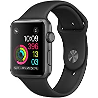 Apple MP032B/A Series 1 38mm Smart Watch with Heart Rate Monitor (Space Grey)