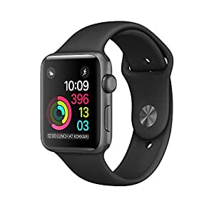 Apple Watch Series 1 42mm - Space Grey Aluminium Case with Black Sport Band