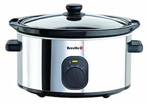 Breville VTP112 Polished Stainless Steel 3.5 L Slow Cooker