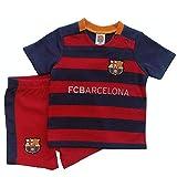 FC Barcelona Baby Kit-Shirt und Short Set Baby T-Shirt Home Kit 3-6 Monate