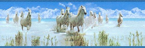 A.S. Création selbstklebende Bordüre Only Borders 9 Borte blau grün weiß 899019