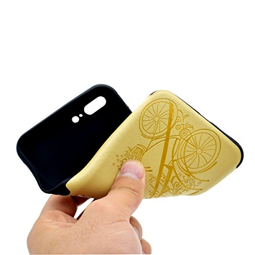 Custodia inShang cover per iPhone 6 Plus iPhone 6S Plus 5.5 Cellulare, super slim e leggero TPU materiale Cover posterior stili per iPhone 6+ iPhone 6S+ 5.5 inch + inShang Logo pennino di alta classe Yellow tower
