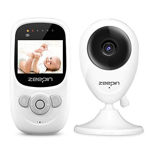 """Baby Monitor Camera Wireless Realtime Video Digitale con schermo LCD 2.4"""",Babyphone,Citofono Visione,Videocamera LCD,Visione Notturna, Monitoraggio Temperatura,Bambini Videosorveglianza Sicurezz"""
