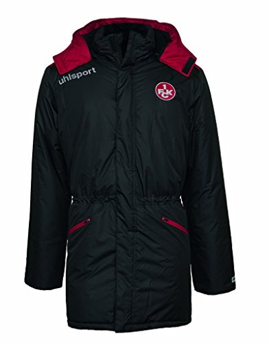 uhlsport Herren FCK WINTERMANTEL 16/17 Jacke, schwarz/Chilirot, XL