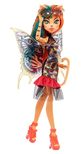Monster High-FCV55 Ninfas con alas - Toralei Mattel Spain FCV55