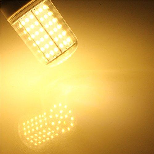 Jiguoor E27/E14/B2210W 900/1000lm 126LED 2835SMD LED Mais Glühlampe, warm/weiß 220V Home Lampe ersetzen KOMPAKT-LEUCHTSTOFFLAMPE, warmweiß, b22 10.0watts -