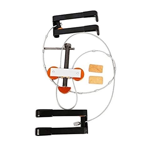Edelstahl Schleife Press klein (superempfindlich) Tragbarer Schleife Presse Bogenschießen Werkzeug