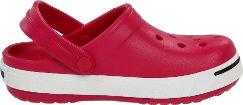 Crocs Crocband II Kids, Sabots mixte enfant Rouge (Raspberry/Black)