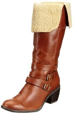 Hush Puppies Noir Rustique Femmes Cuir Ankle Boots-UK 7