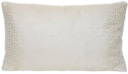 Gewebter Stoff Kissen (DESIGNERS GUILD Modernes Silber Home Sofa Überwurf Kissen Fall Stoff Gewebt Beige Grau Kissenbezug)