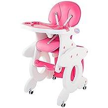 Escritorio de la computadora de la esquina, Silla alta para bebé con ruedas para sentarse