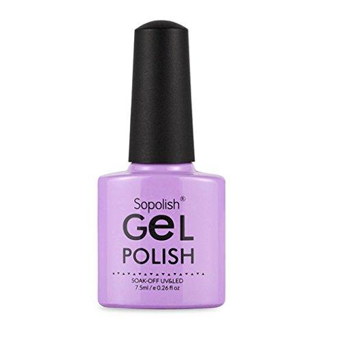Zarupeng 7.5ml Glitzer Nagellack, 3D Gel Effect Top Coat, Nude Nagellack Kunst UV Nail Polish...