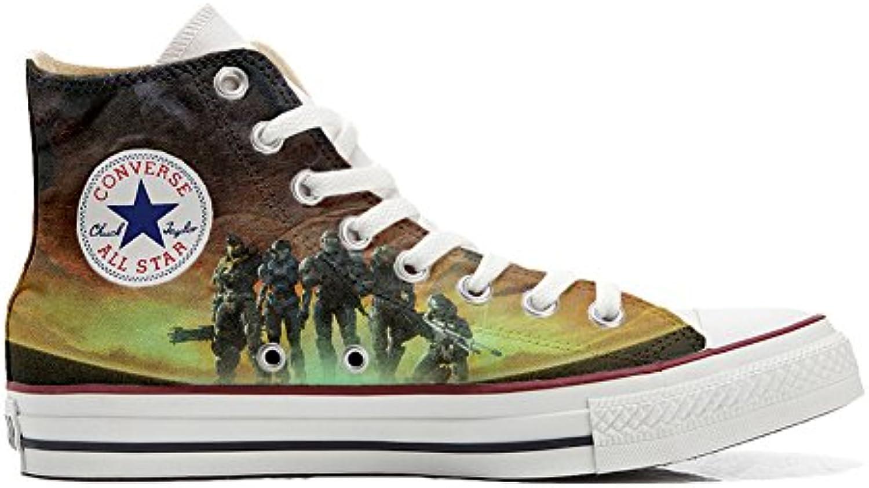 Converse All Star Zapatos Personalizadas Unisex (Producto Artesano) Arabesque -