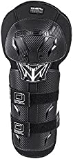 Pro-X Riding Knee and Elbow Guard for Motorcycle and Bike Racing, XL (Black)