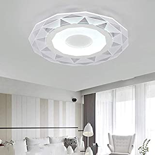 Slim LED Ceiling lamp, Creative Circular Study Master Bedroom Restaurant Lights, The New Acrylic lamp 50CM * 50CM, A,A