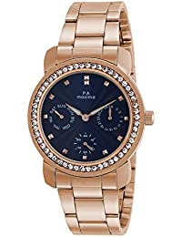 Maxima Analog Blue Dial Women's Watch-O-52951CMLR