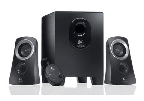 Logitech Speaker System Z313 Haut-parleurs 2.1 Subwoofer 25 watts Noir