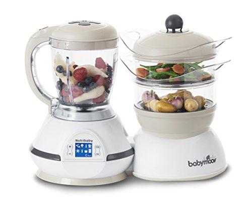 Babymoov procesador de alimentos para bebés Nutribaby classic color Crema – A001115