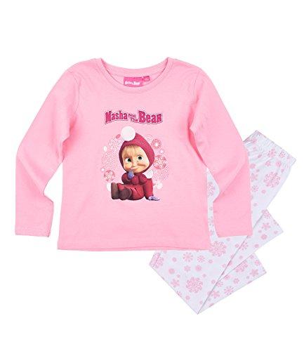 Masha e orso ragazze pigiama - rosa - 128